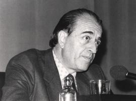 Ramón Barce. Conferencia sobre Arnold Schönberg dentro del ciclo Cuatro conferencias sobre La Escuela de Viena , 1983
