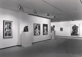 Vista parcial de la exposición Picasso Retratos de Jacqueline, 1991