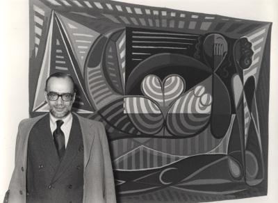 José-Augusto França. Conferencia sobre Almada Negreiros entre Lisboa y Madrid. Inauguración de la Exposición Almada Negreiros (1893-1970)