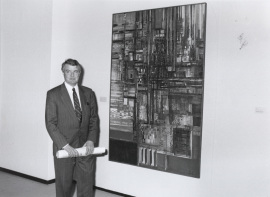 Fernando Pernes. Exposición Vieira da Silva, 1991