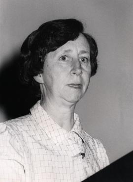 Margarita Salas. Conferencia sobre Iniciación de la replicación del DNA - DNA y expresión genética , 1985