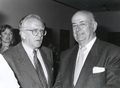Gerardo Rueda y Julián Gállego. Exposición Vieira da Silva