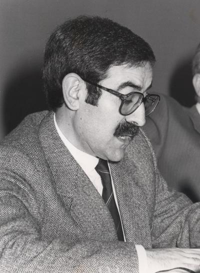 Juan Gutiérrez Cuadrado. Conferencia sobre La lengua a debate dentro del ciclo Pasado, presente y futuro de la Universidad Española