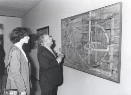 Jean-François Jaeger. Exposición Vieira da Silva, 1991