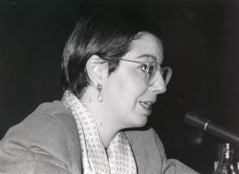 Victoria Combalía. Conferencia sobre Coleccionismo y patronazgo: un reto para el arte español contemporáneo. Conferencia inaugural de la Exposición Arte español contemporáneo en la colección de la Fundación , 1985