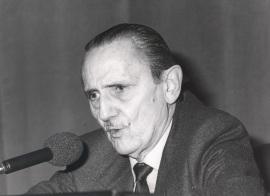 Antonio Buero Vallejo. Conferencia sobre Mis autores preferidos dentro del ciclo Teatro Español del siglo XX , 1985