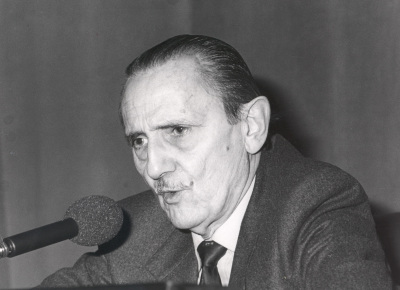 Antonio Buero Vallejo. Conferencia sobre Mis autores preferidos dentro del ciclo Teatro Español del siglo XX