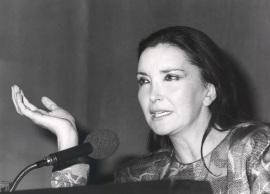 Nuria Espert. Conferencia sobre Mis directores de escena dentro del ciclo Teatro Español del siglo XX, 1985