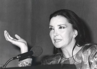 Nuria Espert. Conferencia sobre Mis directores de escena dentro del ciclo Teatro Español del siglo XX