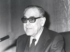 Alonso Zamora Vicente. Conferencia sobre Las sonatas, de nuevo dentro del ciclo Valledentro del ciclo Inclán, hoy , 1986