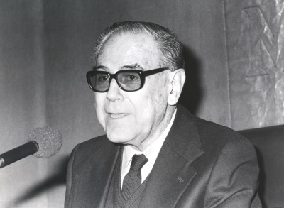 Alonso Zamora Vicente. Conferencia sobre Las sonatas, de nuevo dentro del ciclo Valledentro del ciclo Inclán, hoy