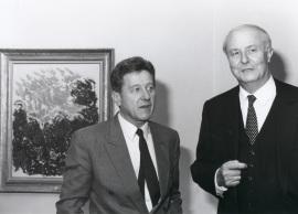 Michel Lavre y Arnaud de Hauterives. Exposición Monet en Giverny Colección Museo Marmottan de París, 1991