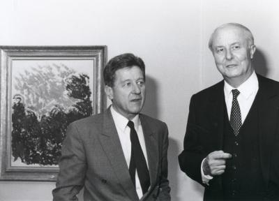 Michel Lavre y Arnaud de Hauterives. Exposición Monet en Giverny Colección Museo Marmottan de París