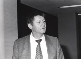 Otto Herbert Hajek. Conferencia sobre Espacio vital: ciudad y arte dentro del ciclo Arte, Paisaje y Arquitectura, 1986