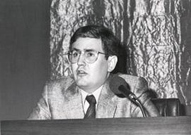 Juan Manuel Bonet. Conferencia inaugural de la Exposición Arte español en Nueva York (1950-1979). Colección Amos Cahan, 1986