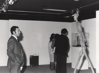 Alfonso Emilio Pérez Sánchez. Exposición Giacometti: Colección de la Fundación Maeght