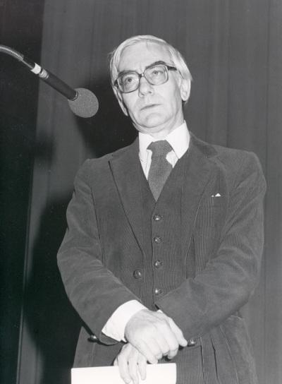 Gonzalo de Olavide en la presentación de su obra Ricercare