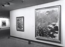 Vista parcial de la exposición Monet en Giverny Colección Museo Marmottan de París, 1991