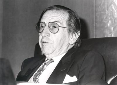 José María Amado. Conferencia sobre 'Litoral'y la Generación del 27 dentro del ciclo La generación del 27, sesenta años después