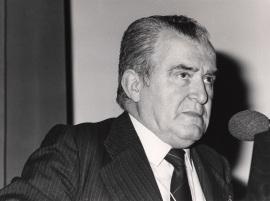 Antonio Blanco Freijeiro en el ciclo La romanización de Hispania, 1988