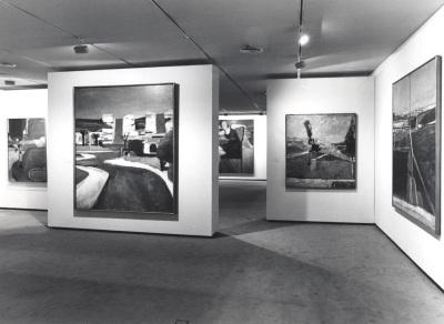 Vista parcial de la exposición Richard Diebenkorn