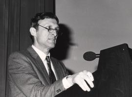Michael Parkhouse. Conferencia sobre Somatic generation of immune diversity - La nueva inmunología , 1988