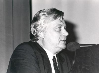 Dieter Honisch. Conferencia inaugural de la Exposición Zero, un movimiento europeo (Colección Lenz Schönberg)