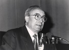 Carlos Seco Serrano. Conferencia sobre El Rey y la Corte: Los Reales Sitios dentro del ciclo El Madrid de Carlos III, 1988