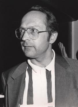 Peter Palese en el curso sobre La evolución del genoma, 1988