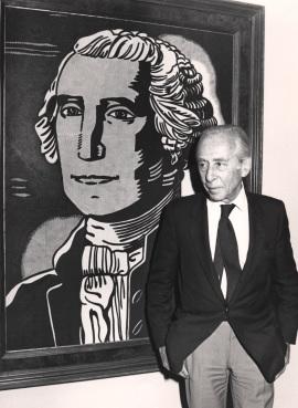 Leo Castelli. Exposición Colección Leo Castelli, 1988