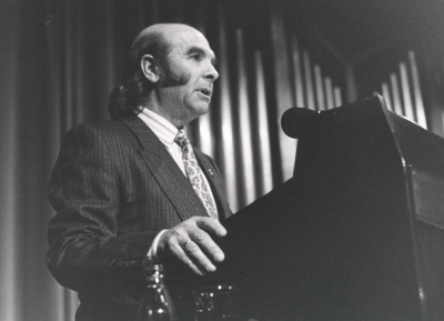 Claudio Prieto en el estreni de la obra We versión definitiva, de Luis de Pablo