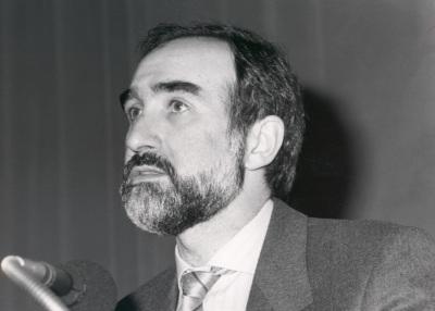 José López Carrascosa. Conferencia sobre The proteins of biological membranes - Membranes and cell Compartments