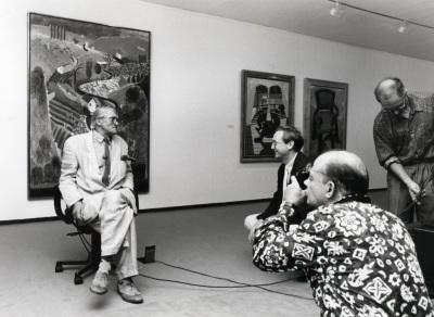 David Hockney. Exposición David Hockney