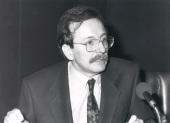 Juan Pablo Fusi. Conferencia sobre La construcción del Estado Moderno dentro del ciclo La organización territorial del Estado español (1833-1978) , 1990
