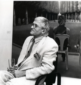 David Hockney. Exposición David Hockney, 1992
