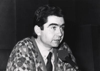 Antonio Muñoz Molina. Conferencia sobre El argumento y la historia dentro del ciclo Sobre la realidad de la ficción