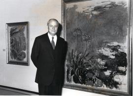 Arnaud de Hauterives. Conferencia sobre Monet inventor de la pintura moderna Conferencia inaugural de la Exposición Monet en Giverny - Cuatro lecciones sobre Monet , 1991