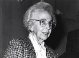 Soledad Salinas. Conferencia sobre Niñez y mocedad de Pedro Salinas dentro del ciclo Memoria y vigencia de Pedro Salinas , 1991