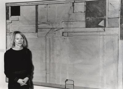 Catherin Lampert. Exposición Richard Diebenkorn