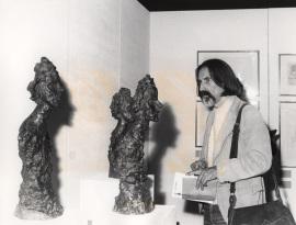 José Ruibal. Exposición Giacometti: Colección de la Fundación Maeght, 1976