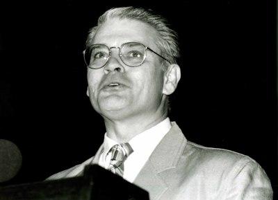 Roger Tinnell en la presentación del libro Federico García Lorca y la Música