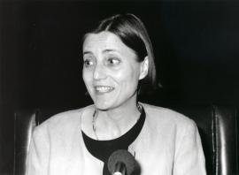 Brigitte Leal. Conferencia sobre Un espectáculo total: música, pintura y danza. Conferencia inaugural de la Exposición Picasso: el sombrero de tres picos , 1993