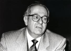 Ermanno Caldera. Conferencia sobre Las fuentes del 'Don Juan Tenorio' dentro del ciclo Cuatro lecciones sobre Zorrilla , 1993