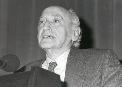 Carlos Bousoño en el ciclo Encuentros con Carlos Bousoño