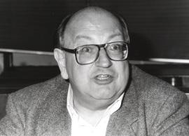 Hans-Jürgen Puhle. Seminario sobre Tendencias de cambio en la política de Alemania, 1994