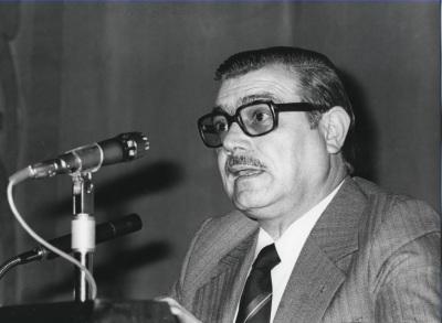 José Miguel Caso González. Conferencia sobre Jovellanos y la Ilustración dentro del ciclo Cuatro aspectos de la obra de Jovellanos
