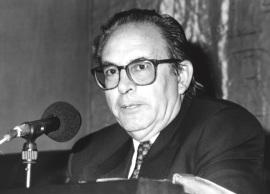 Pedro Cerezo Galán. Conferencia sobre Memoria de la ética dentro del ciclo El pensamiento, hoy , 1994