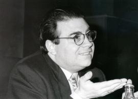 Jaime Siles. Conferencia sobre La Elegía latina y la sociedad de su tiempo dentro del ciclo Formas modernas de la poesía antigua y formas antiguas de la poesía moderna , 1995