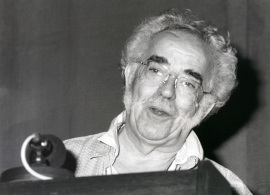 Agustín García Calvo. Conferencia sobre Libros y lectura en la Antigüedad Clásica (Hablar con los muertos) dentro del ciclo Libros y lecturas: cinco momentos históricos , 1995