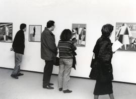 Vista parcial de la exposición Malevich Colección del Museo Estatal Ruso, San Petersburgo, 1993